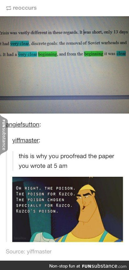 essays must have