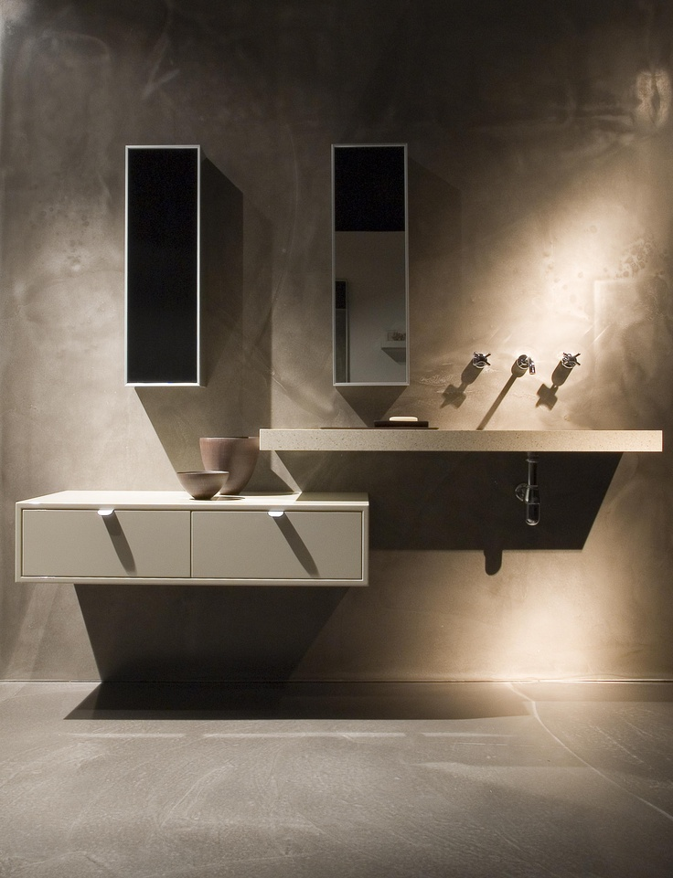 minosa design scooped washbasin by minosa luxury modern bathroom vanity future basement bathroom - Small Modern Bathroom Vanities
