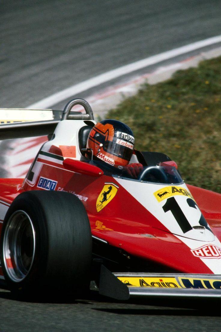 Gilles Villeneuve (Netherlands 1978) by F1-history.deviantart.com on @deviantART