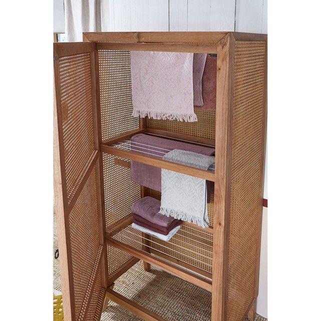 Armoire Lingere Seche Linge Naturel Billie Blanket X La Redoute Interieurs La Redoute Placard Fait Maison Deco D Interieur Bon Marche Idees De Decor