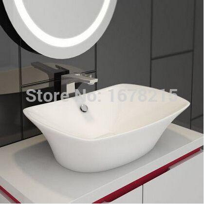 新しい アメリカ の標準浴室に ステージ流域/半埋め込み洗面所ボウル浴槽を ステージ流域