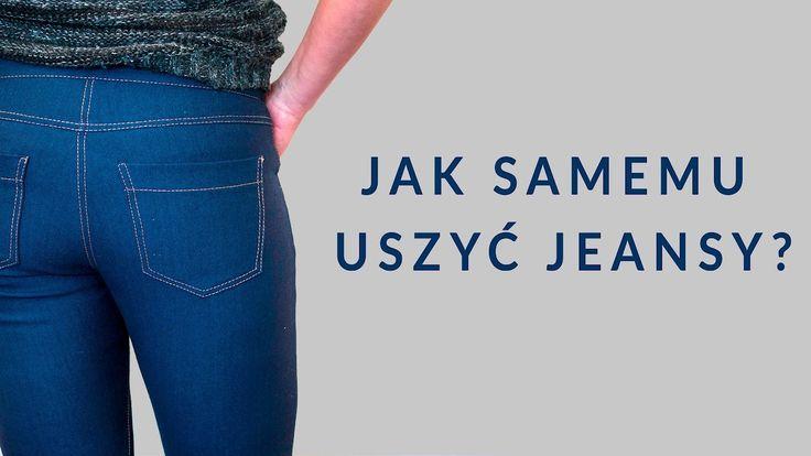 Jak samemu uszyć jeansy? Marta objaśnia niuanse odszycia damskich spodni jeansowych. /JEANS PANTS SEWING STEP BY STEP VIDEO TUTORIAL