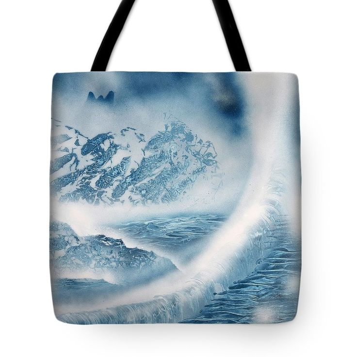 Printed with Fine Art spray painting image Waterfall From Heaven Nandor Molnar (When you visit the Shop, change the size, background color and image size as you wish)