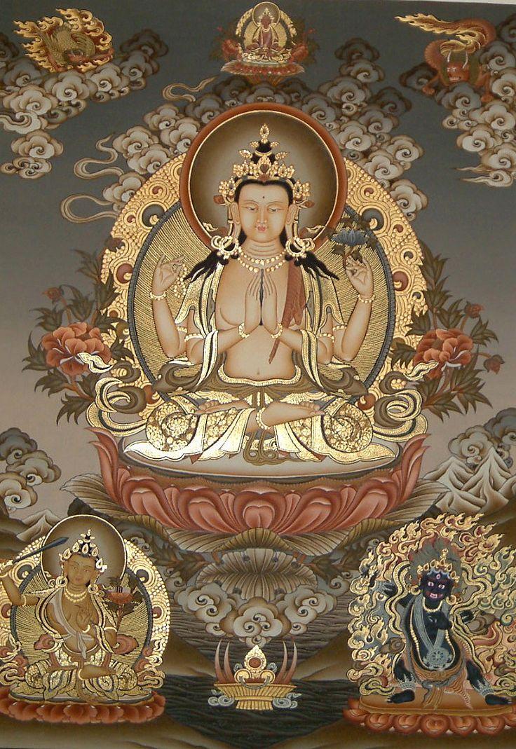 Avalokiteshvara, the Compassion Buddha.