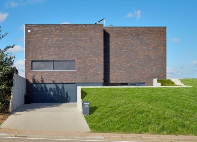 205 best images about nieuwbouw modern on pinterest for Moderne huis foto