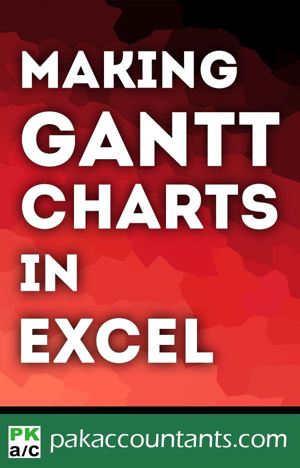 Excel Tutorial Template Gantt Chart How To Microsoft Excel Tutorial Excel Tutorials Excel For Beginners
