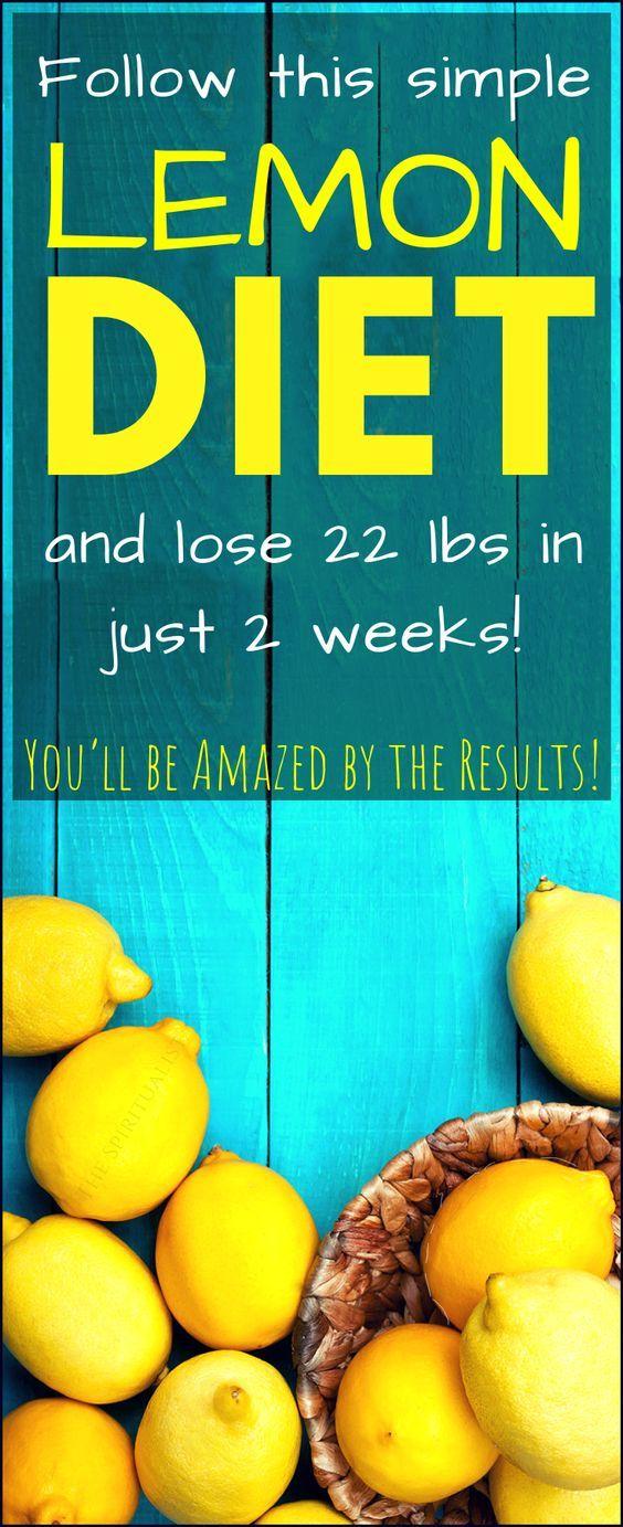 Simple Lemon DIET und 22 Pfund in nur 14 Tagen abnehmen (Sie werden von den Ergebnissen begeistert sein