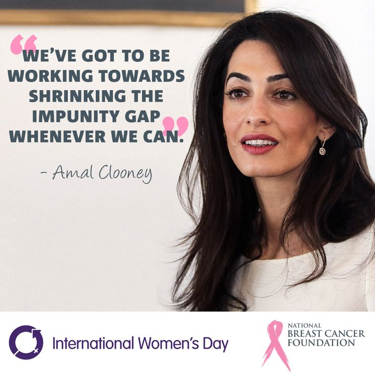 For International Women's Day, we're celebrating amazing women and their achievements each day until the 8th March.  Today we celebrate Amal Clooney, distinguished lawyer, activist and author specialising in international law and human rights. She has represented numerous high-profile clients, including Enron and WikiLeaks founder Julian Assange. She has also been a part of several United Nations commissions and tribunals.  #IWD2016 #AmalClooney #AmalAlamuddin #women