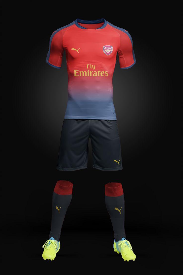 Arsenal Football Kit concept Designed by me  :) #Football #Arsenal #Design #Jersey #Soccer #COYG #Emirates #Photoshop #ApparelDesign #Gunners #Gooners #Fan #Art #Ozil #Ramsey #Goal #Sports #Sport #Fifa #PremierLeague #Goals