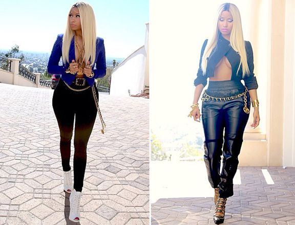 Nicki minaj casual outfits are right