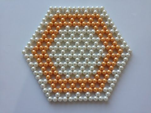 How to make beaded table mat