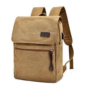 Solid Color Backpack, retro vintage style! For more colors visit our website! Unique school, laptop backpack! USB Out! On Sale!