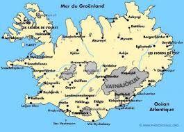 islande carte - Recherche Google
