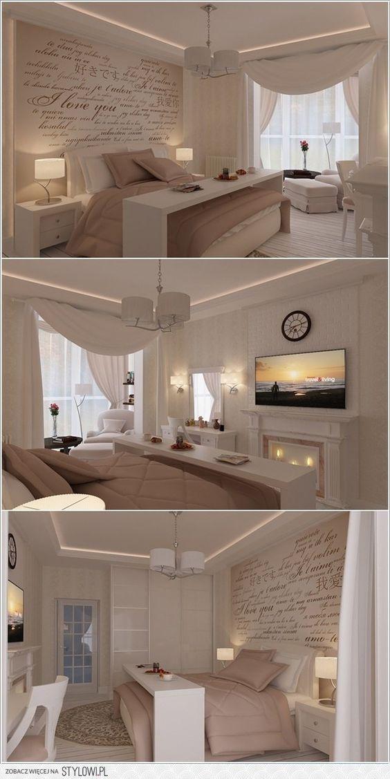 Die besten 25+ Romantisches schlafzimmer dekor Ideen auf Pinterest - wohnzimmer romantisch einrichten