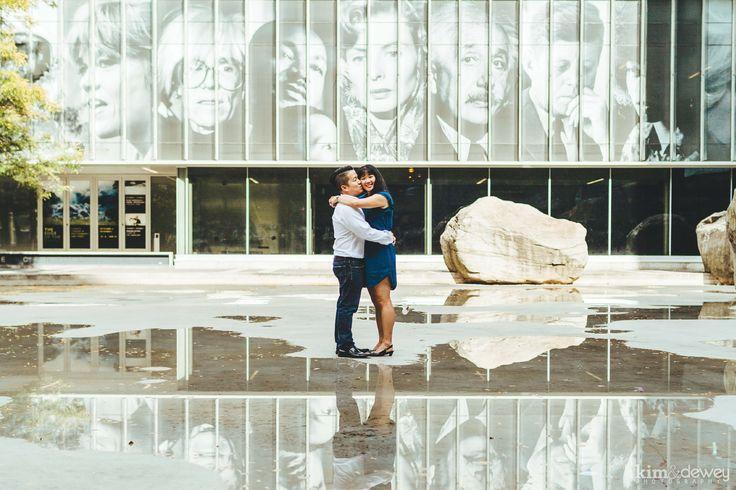 Toronto Engagement Pictures by Kim & Dewey Photography   www.kimanddewey.com  #engagement #photography #toronto #wedding