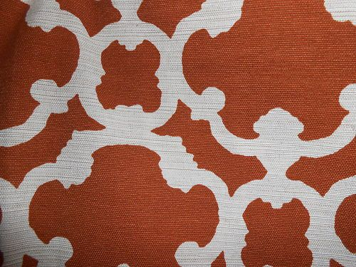 Home Threshold Target Farrah Fretwork Rust Curtain Dining Room