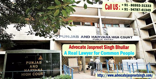 """Advocate Jaspreet Singh Bhullar - A Lawyer of Common People""  Advocate Jaspreet Singh Bhullar is named among the best criminal lawyer in chandigarh and serving for many years to civilians of Punjab & Haryana. Our services are extended also to civil lawyer in chandigarh & matrimonial lawyer in chandigarh, handling all types of related cases. Visit http://www.advocatejaspreetsingh.com/ to discover lots about us & Feel free to call @ +91-86993-31333, +91-94787-41349"