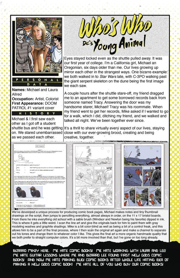 Doom Patrol (2016) Issue #10 - Read Doom Patrol (2016) Issue #10 comic online in high quality