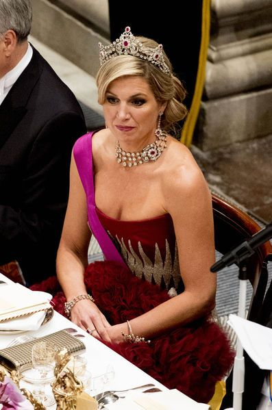♥•✿•QueenMaxima•✿•♥...King Philippe & Queen Mathilde Visit The Netherlands – Day 1 (Dinner) Nov. 28, 2016