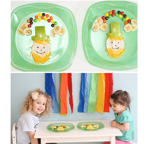 St patrick's day lunch toddler style!!! (The Busy Budgeting Mama) totally doing this next year!!!!!