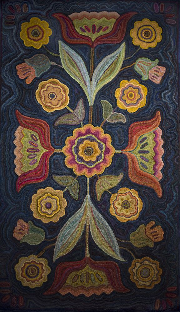 Green Mountain Rug Hooking Guild - 2012 Viewer's Choice Winners