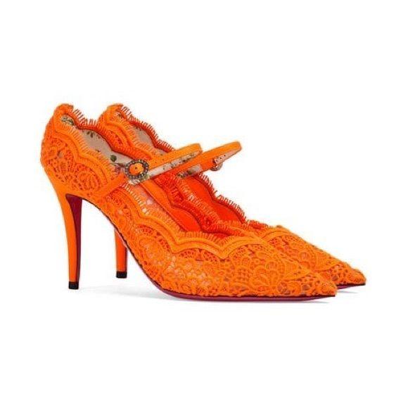 Gucci Virginia Lace Pumps | Lace pumps