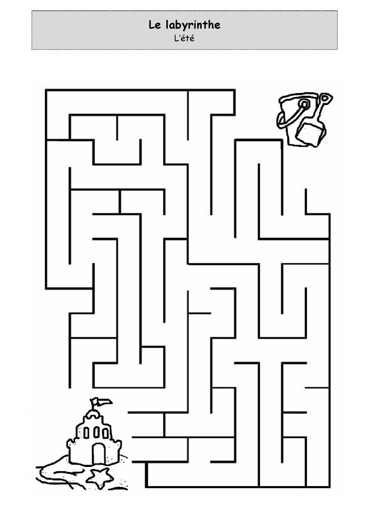 Golf Maze Preschool Worksheet. Golf. Best Free Printable ...