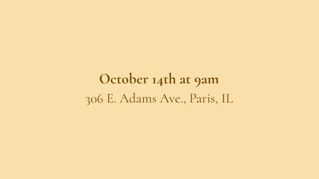 PUBLIC ESTATE AUCTION  DATE:  Saturday, October 14, 2017 @ 9:00am (CST) LOCATION: 306 E. Adams Ave, Casey IL  62420  •  Int'l Antiques/Collectibles • Antique & WWI-II Military Weaponry (Pistols, Daggers, Bayonettes, Swords & Knives) • Pottery/Glassware  •  Firearms •  Lg Assortment Cameras, Lenses, Photography Supplies • Old Vinyl Records • Lg Assort Asian Collectibles  •  Vintage Mahjong Wood Tile Set •  Vintage Ventura Acoustic Guitar • 600x Reflector Telescope  • MORE!  www.ucmarshall.com