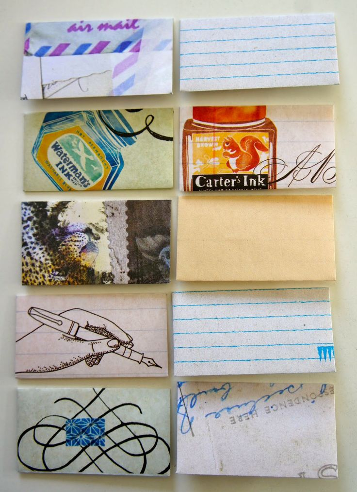envelope inspiration writing