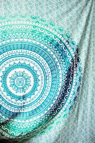 Every Lady Scorpio Mandala Tapestry is designed to create good vibes & positive energy. A Tapestry is a heavier, decorative textile created to be used as