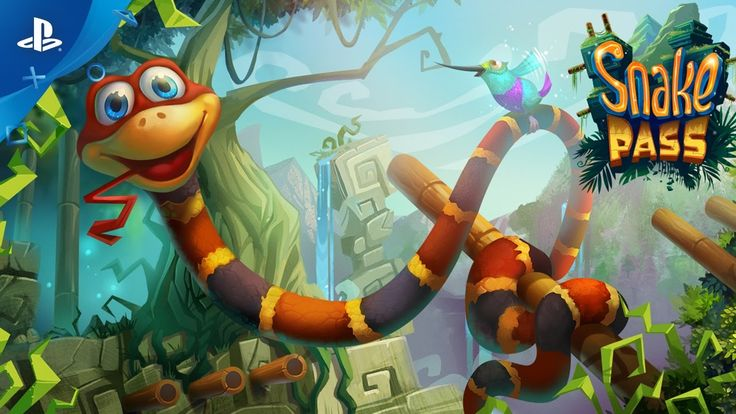 Snake Pass [Video] PlayStation Experience Trailer #Playstation4 #PS4 #Sony #videogames #playstation #gamer #games #gaming