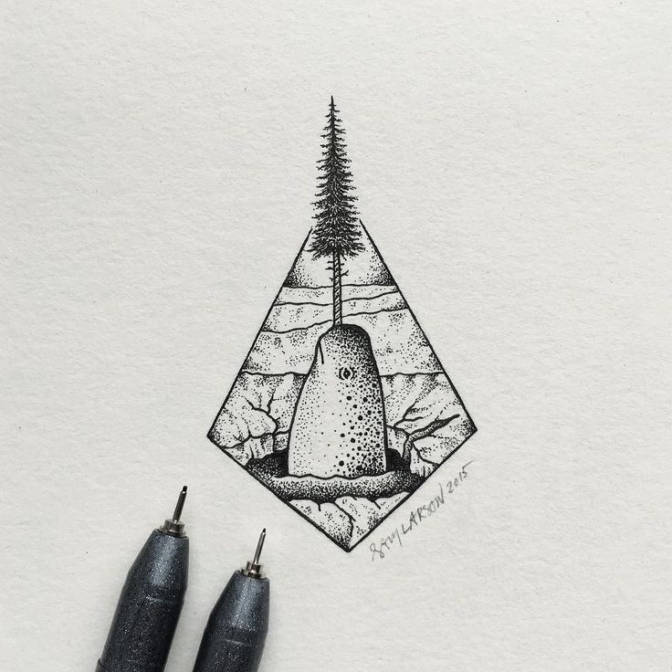 #art #illustration #narwhal by samlarson