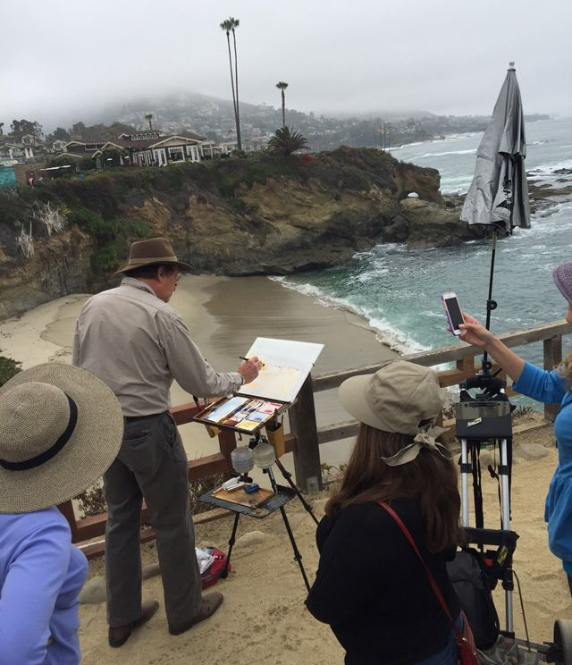Treasure Island Laguna Beach: 50 Best LPAPA Mentor Paint Outs Images On Pinterest