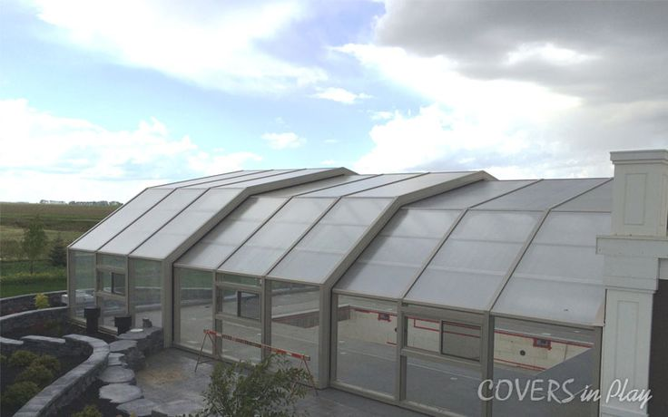 Our triple peak swimming pool enclosure comes in 44 ft wide x 55 ft long with 3 bays. Have a look athttp://www.coversinplay.com/benefits.html#PoolCover #PoolEnclosure #Swimming #SwimmingPool #Cover #Enclosures
