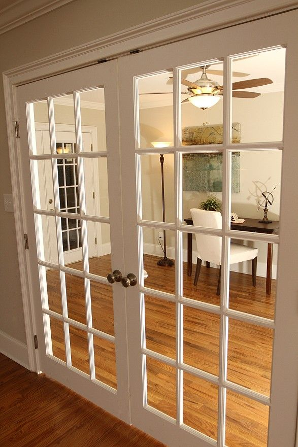 Exactly What I Want From The Kitchen Into Living Room Locking Mechanism At French Doors
