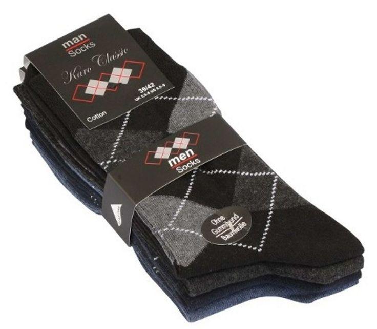 Klassische Herren-Socken im 4er Pack