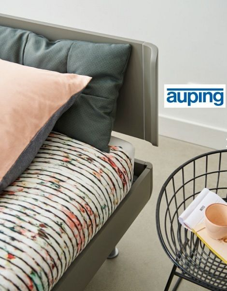 Auping Match  bed tweepersoons, hoofdbord comfort, kleur  warm grey  Slaapkamerzaak-verkooppunt  Auping :  Slaapkenner Theo Bot  Dorpsstraat 162  1689 GG Zwaag  www.theobot.nl  info@theobot.nl