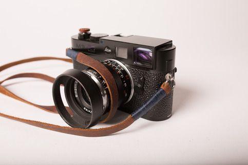 Midland Camera Strap, Navy Wrap | Odessa Goods