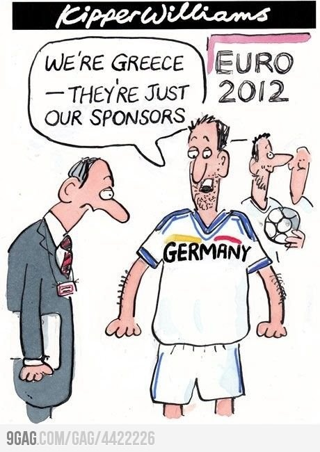 Too funny :D: Euro 2012, Cartoon, We Re Greece, Funny, Germany, Humor, Euro2012