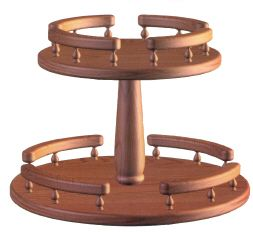 Two Tiered Lazy Susan Home Pinterest Lazy And