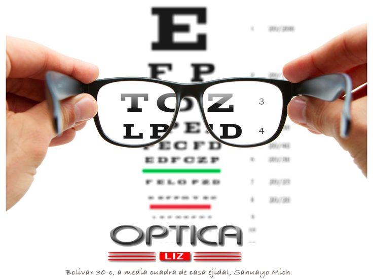 Examen de la vista, optica