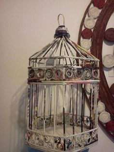 como hacer jaulas decorativas - Buscar con Google