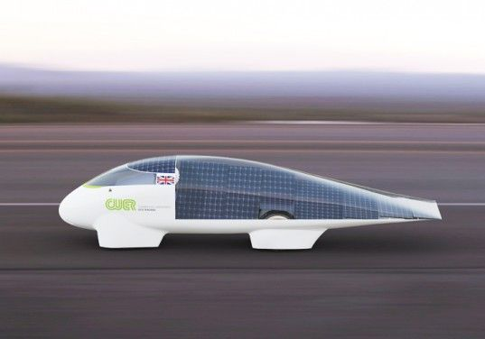 CUER Solar Car for the World Solar Challenge 2013