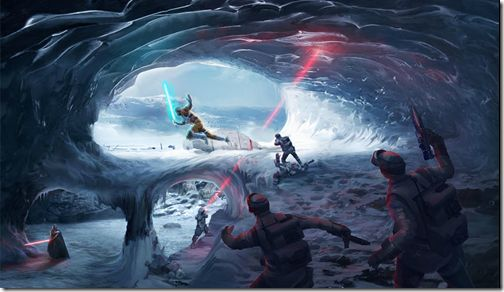 Star Wars Battlefront Online Concept Art #starars #gaming #battlefront #art