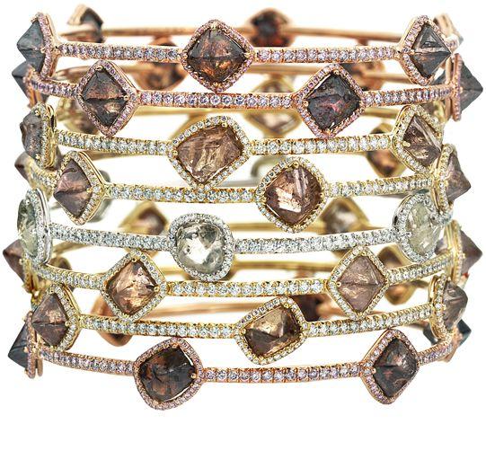 Orielle: Diamonds Bracelets, Style, Jewellery, Diamonds Rings, Wedding Rings, Rough Diamonds, Diamond Bracelets, Fine Jewelry, Engagement Rings