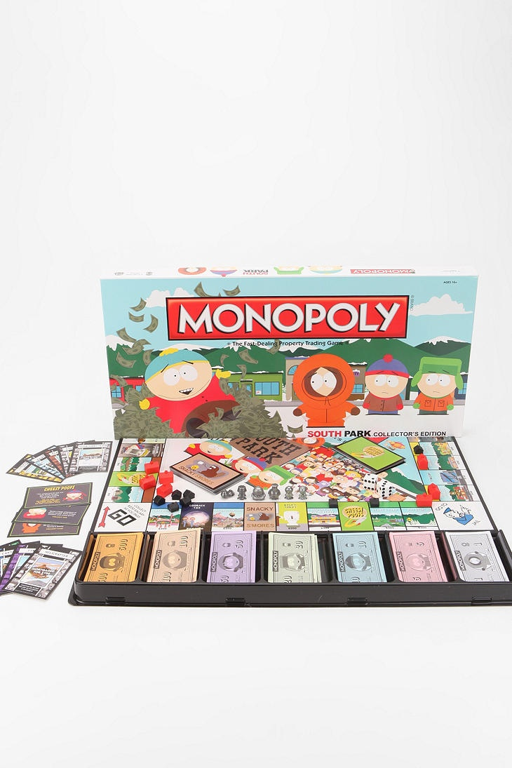 South park monopoly board game urbanoutfitters