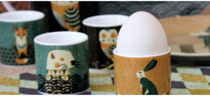 magpie egg cups