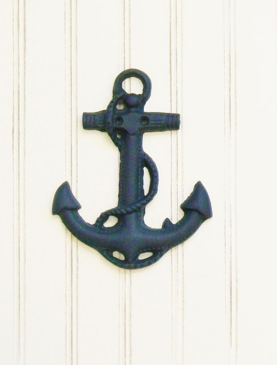 Anchor cast iron wall decor Choose your by ColorfulCastAndCrew