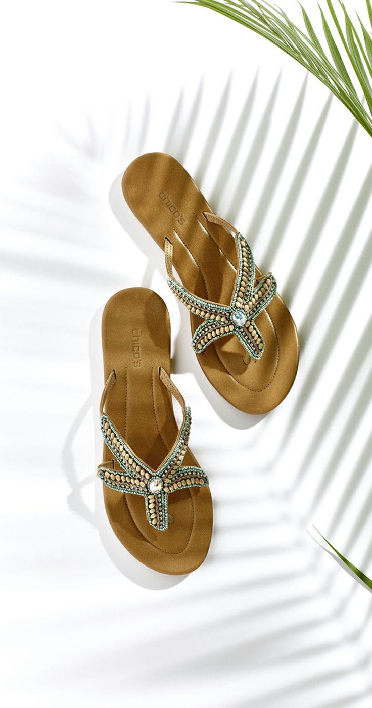 Chico's Starfish Sandals