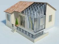 Как своими руками создать каркас из профильной трубы и построить дом